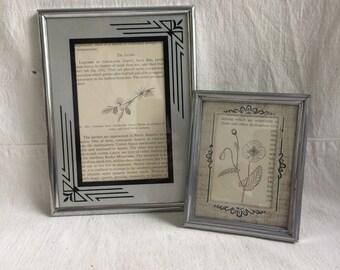 Vintage art deco frames