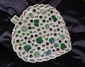Glass Nugget Leaf