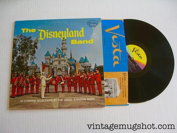 1969 Walt Disney The Disneyland Band Vintage Vinyl Lp