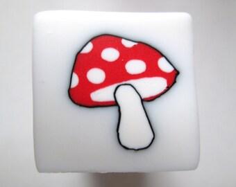 Mushroom Polymer Clay Cane, Polymer Clay, Cane, Canes, Nail Art, Jewelry, FIMO