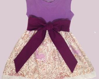SALE Girls Knit Tank Dress Unicorns Size 2T Ready to Ship