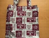 Texas A&M reusable tote or market bag