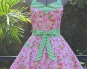 Strawberry Shortcake Sweetheart Apron - Full of Flounce