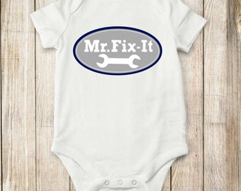 Fix It, Onesie, shirt, baby clothes, toddler clothes