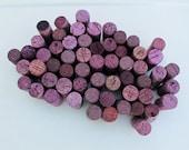 Reserved for Debbie - Blue & Purple Craft Corks - 100