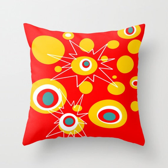 All Modern Outdoor Pillows : Outdoor Pillow Modern Outdoor Pillow Red Outdoor Pillow