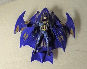 DC Comic Batman Action Figure with Winged Bat Ship