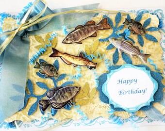 Fisherman's Birthday Card!