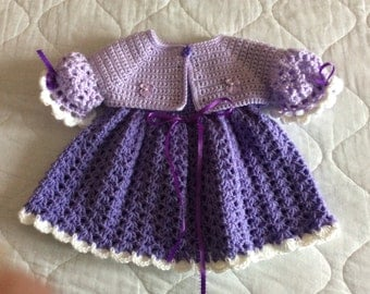 Dress with bolero set size 0-3 months
