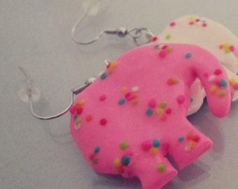 Animal Cookie Earrings
