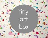 TINY ART BOX by Tiny Brushstrokes - a subscription-based art experience for early childhood: 1 Month art,craft, creative, subscription box