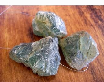 50% VALENTINE SALE Raw Apatite Stone, Apatite Rough Stone, Apatite GemStone, Raw Gemstones, 3 Pieces, 22 To 25mm Each