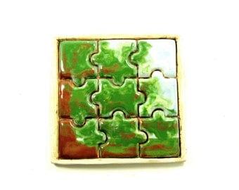 Puzzle Tile - Live Oak Tree