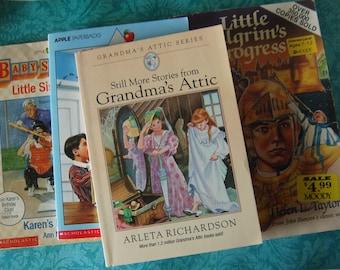 4 Kid's Books Lot