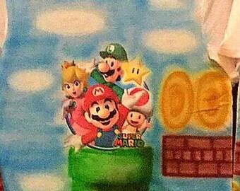 Mario brothers airbrush shirt