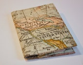 Passport Cover Passport Holder  Old world  Map  Dominion of Canada United States