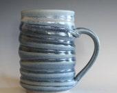 Coffee Mug Pottery, 18 oz, unique coffee mug, handmade ceramic cup, handthrown mug, stoneware mug, pottery mug, ceramics and pottery