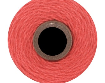 Solid Coral Divine Twine (240 yards) Solid Coral