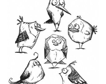 Bird Crazy- Stampers Anonymous