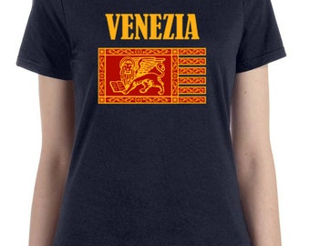 Piazza San Marco St. Mark's Square Venice Flag Venezia Italy St. Mark's Square Lion Shirt