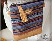 La Natalia Bag - Cross body bag - Classic bag - Peruvian bag - Cork bag- Navajo Purse - Travel bag -