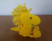 Snoopy Woodstock Bird Plush Toy  Wendy's