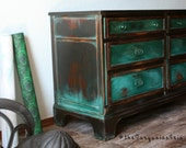 Vintage Modern  Dresser/ A Colour Palette Sure to Make You Want This Furniture