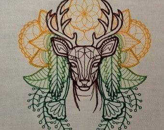 Spirit of Deer Tarot Cloth