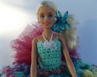 Mardi Gras Barbie Doll/Toilet  Paper Doll