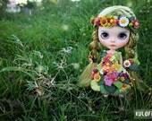 Kuloft Custom Blythe No.20 Elf  Doll Kuloft Custom