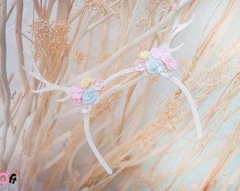 Blythe  Deer Flowers headband