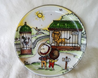 Joan Walsh Anglund Mini Dish - Children at the Zoo