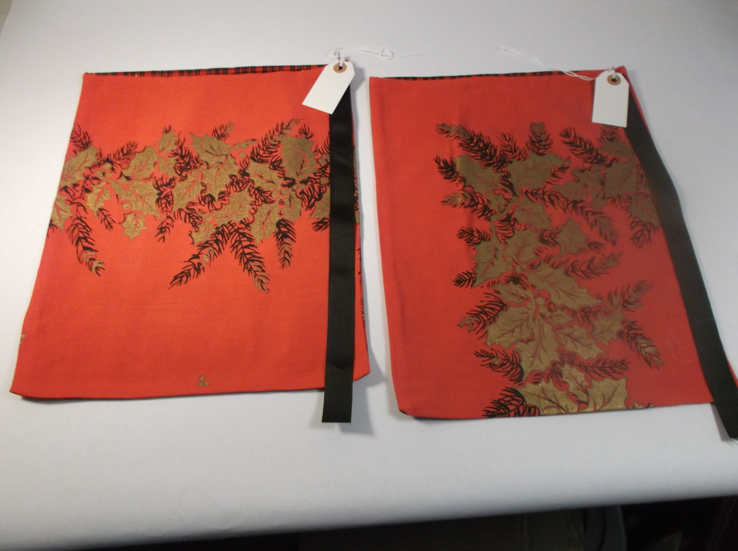 Sale christmas gift bags set of made from s