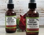 Rose Perfume Body Spray, Rose Perfume