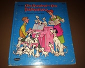 One Hundred And One Dalmatians 1960 Walt Disney Hardback Whitman Book USA