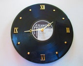 AC DC 33 Record Clock Back in Black