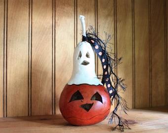 Ghostly Mini Gourd 2