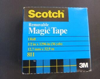 Scotch - Removable Magic Tape
