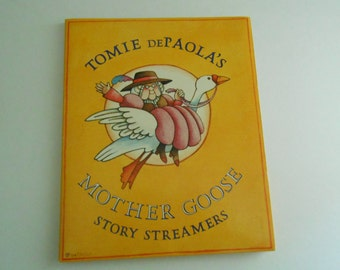 Tomie DePaola Mother Goose mural story streamer frieze
