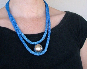 Silver Orb Necklace