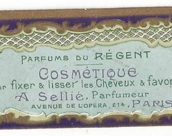 Vintage Parfums du Regent Cosmetique, A Sellie Parfumeur Label, C1920s