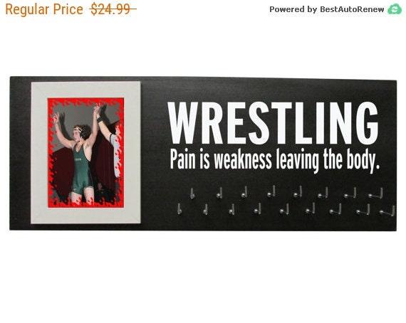 Wrestling Medal Hanger - Wrestling medal display - Wrestling gifts - Wrestling medal holder - holder for wrestling medals Wrestling singlet