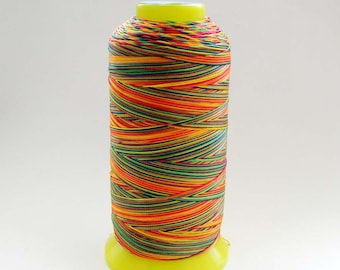 One Multi-Color Silk Cord For Handwork  ja512