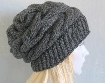 womens hat, women slouchy beanie, winter hat, women slouchy hat, slouchy knit hat, slouchy beanie hat, women knit slouchy hat