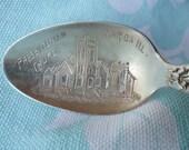 Antique 1908 R. Wallace Sterling Silver Souvenir Spoon  - Presbyterian Church of Maroa, Ill.