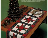 Quilt in a Day A Star for all Seasons table runner and placemats Christmas holiday