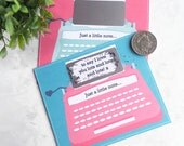 Just A Note Typewriter Scratchcard