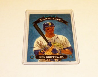 Vintage Donruss Diamond King 1993 Ken Griffey, Jr. Card