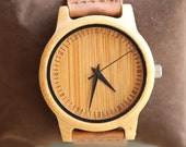 Personalized Wooden Watch, Wood Watch,Groomsmen Gifts, Mens Birthday Gifts, Wedding Gifts, Anniversary Gifts, Father's Day Gifts, Husband