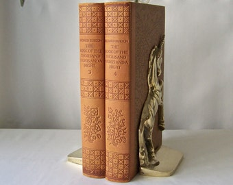 The Book of the Thousand Nights and a Night Two Volumes Circa 1934
